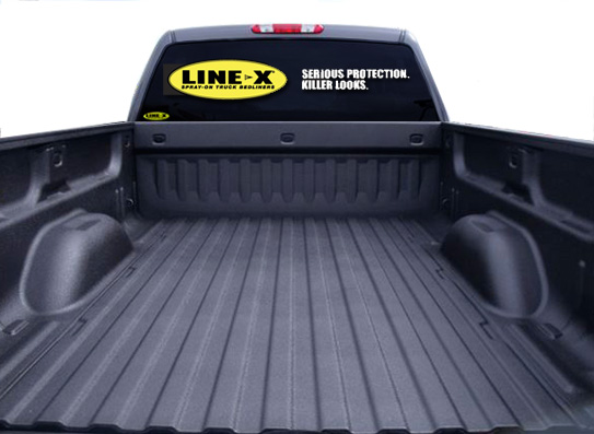 Linex Bed Liner >> Line X Spray On Bedliner Truck Accessories Durham